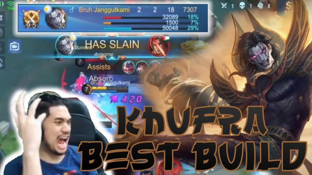 khufra best tank build 2020 ! - mobile legend bang bang   fatebruh