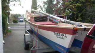 Wharram Hinemoa 23 foot catamaran Tuatara NZ