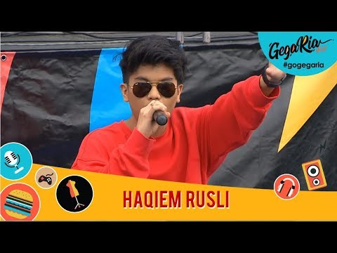 #GegariaFest | Haqiem Rusli
