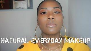 Everyday makeup tutorial | Natural | WOC