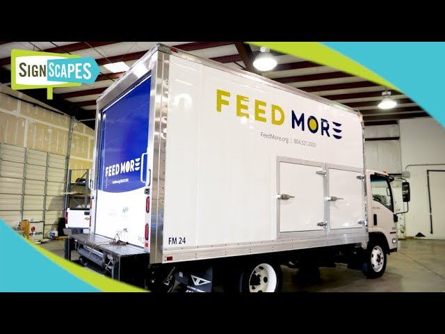 Feed More Box Truck Wrap | SignScapes