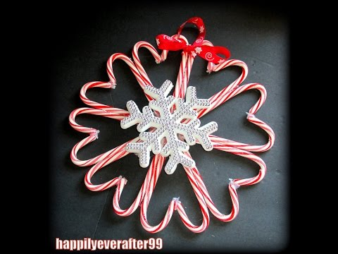 DollarTree DIY: Candy Cane Wreath