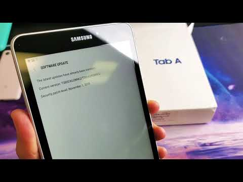 Galaxy Tab A: How To Do A Software Update
