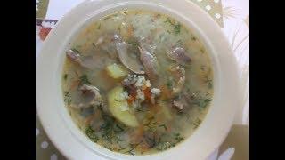Вкуснейший рисовый суп с уткой ,,Кряква,,