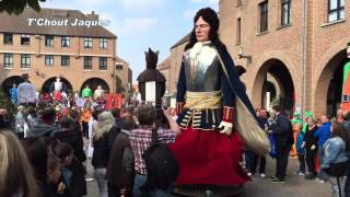 Renaut de Courtemanche à la fête des Hurlus (Mouscron le 4 octobre 2015)