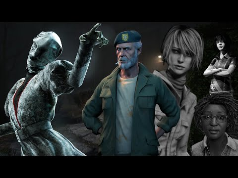 Silent Hill Gone Wrong | Dead By Daylight w/friends #1 |
