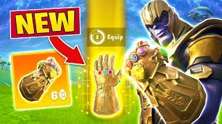 Fortnite - How To Become Thanos Every Game! (Infinity Gauntlet Gameplay)