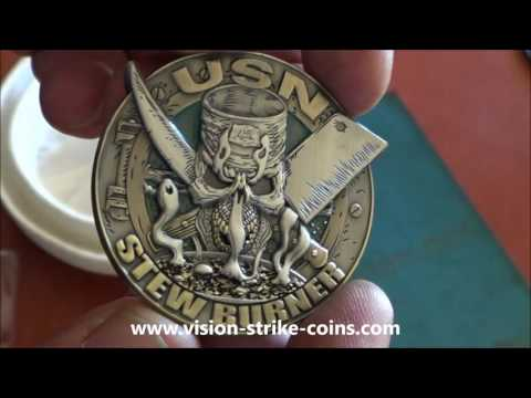 US Navy Culinary Rate Coin