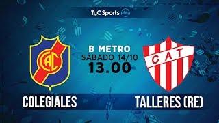 Colegiales vs CA Talleres Remedios de Escalada full match