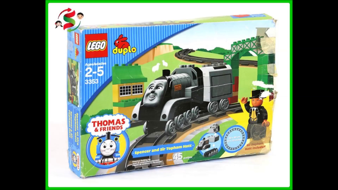 Lego Duplo Spencer And Sir Topham Hatt 3353 Youtube