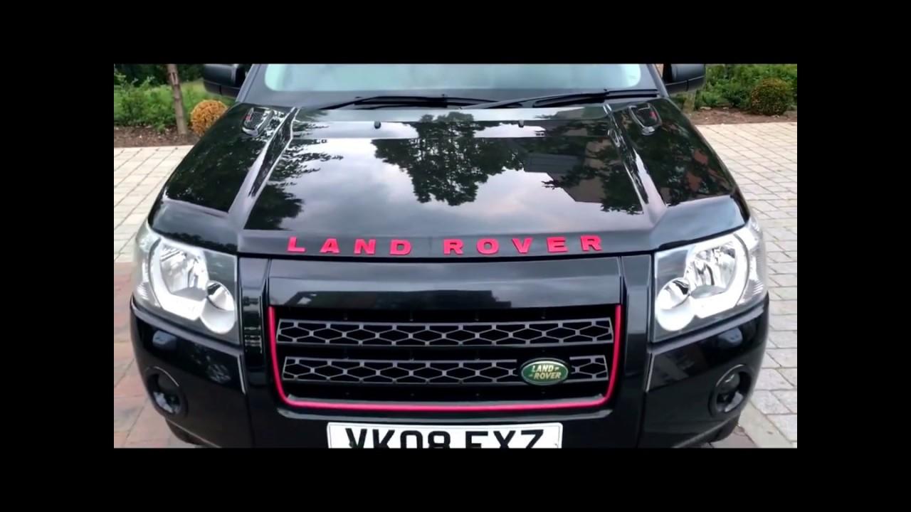 Range Rover Black >> Project Stealth - Land Rover Freelander 2 Bonnet upgrade - YouTube