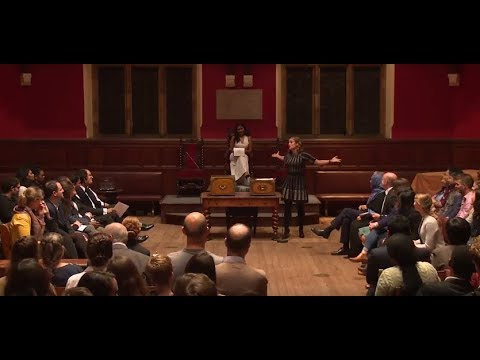 Milton Friedman Debate at the Oxford Union