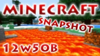 Minecraft Snapshot 12w50a & 12w50b - RedCrafting Review
