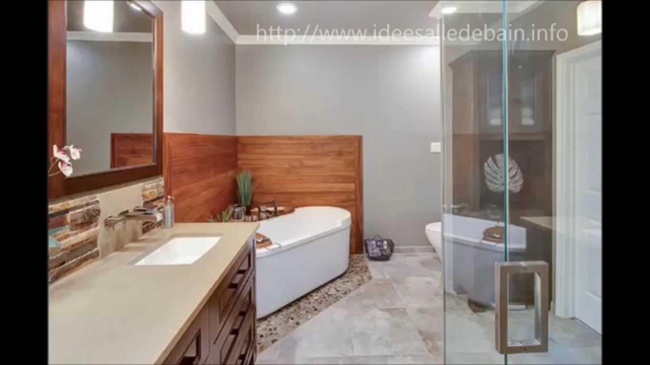 √ salle de bain moderne avec baignoire