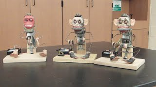 Toys and machines dissected for classroom display ///  Homemade Science with Bruce Yeany