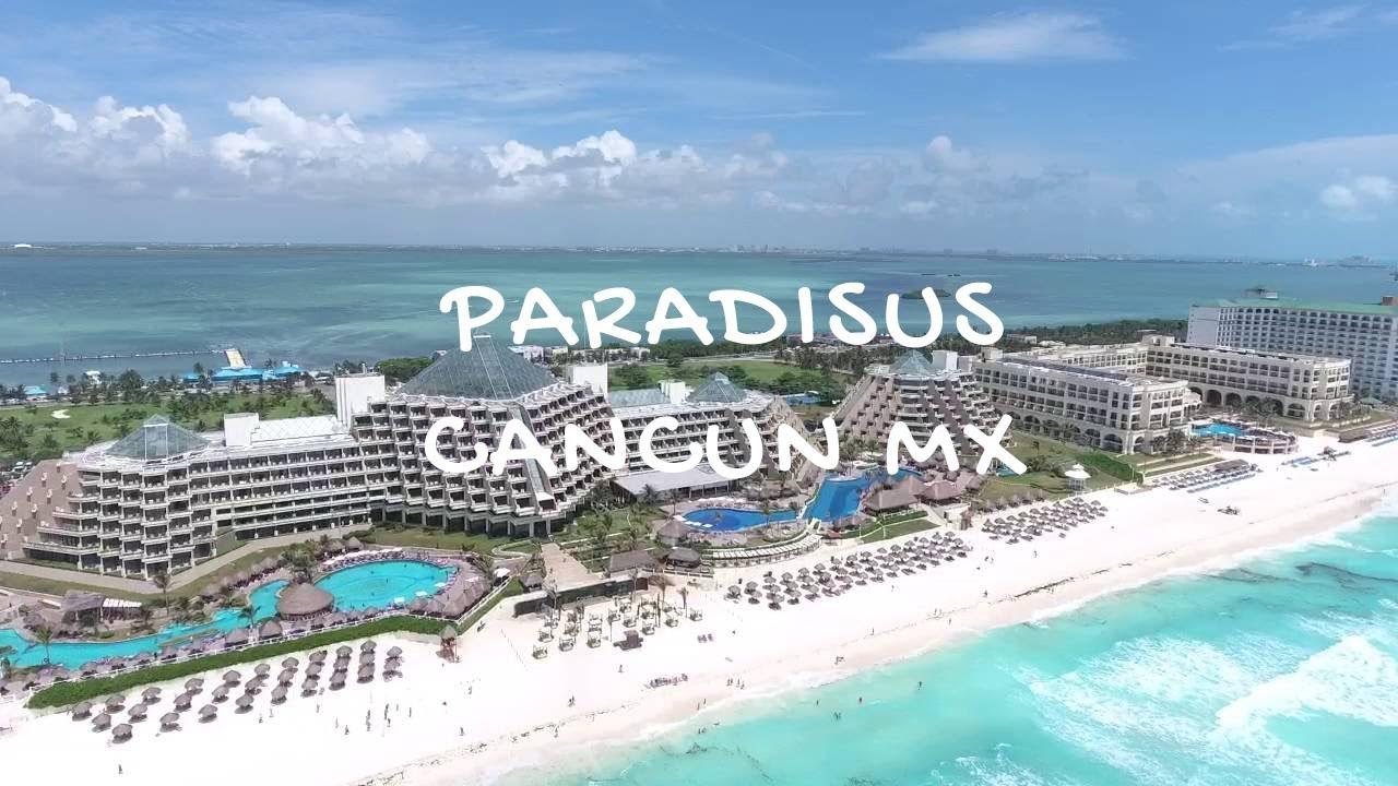 Melia Paradisus Cancun Mx Shot On Iphone 7 And Gopro Session Youtube