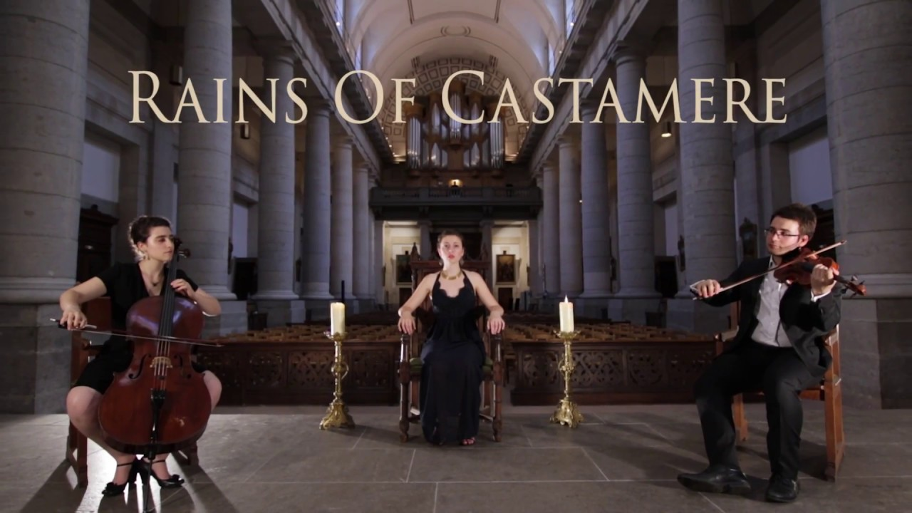 Game of Thrones - The Rains of Castamere cover by Grissini Project