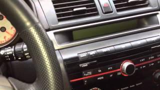 Mazda 3(Не работает магнитола, экран, прыгают стрелки, сбивается одометро, не работает центральный замок с ключа., 2012-07-21T18:15:57.000Z)