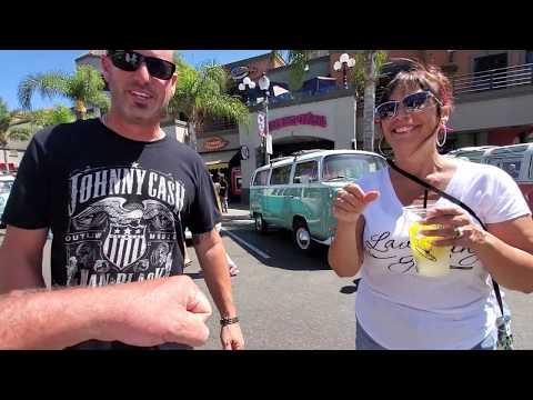 Surf City Days Huntington Beach V-Dub Buses Walkthrough On DAN-O-VISION...