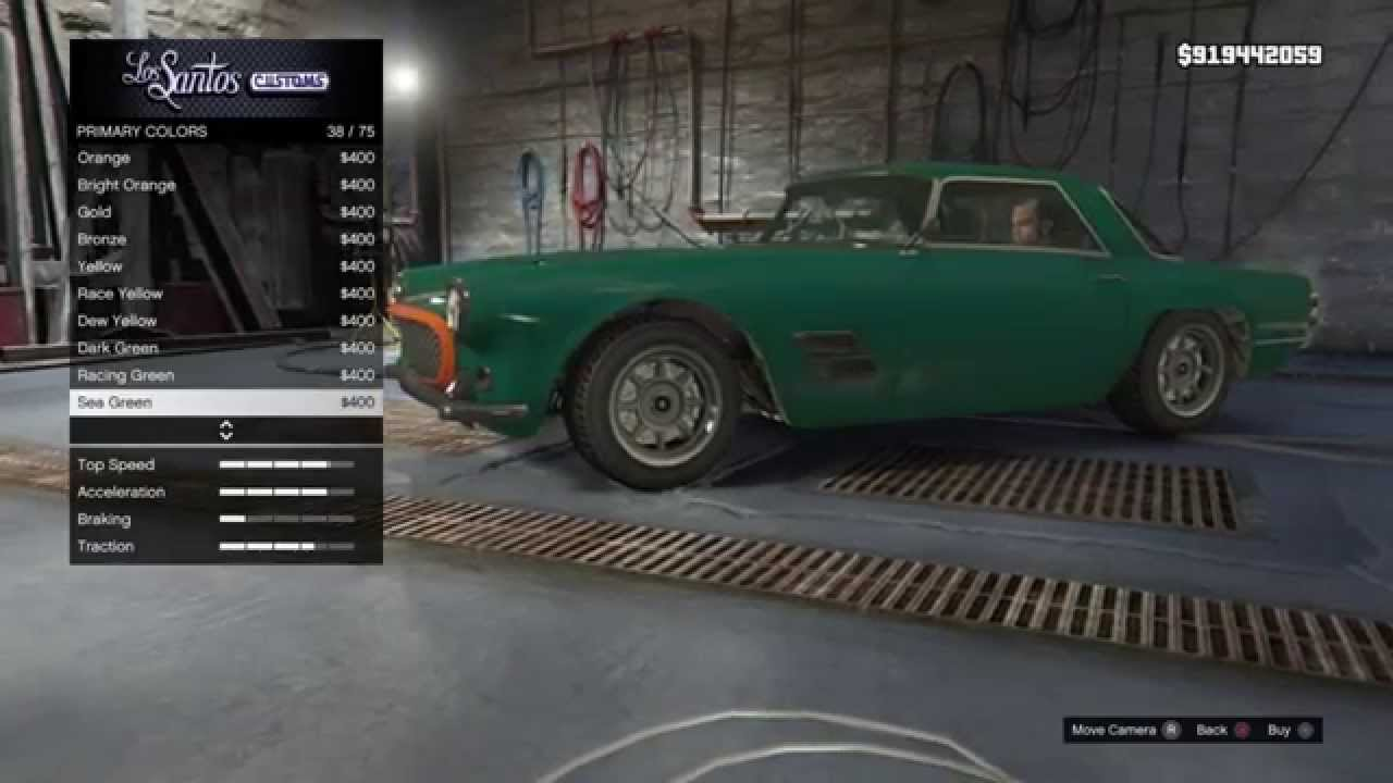 New Lampadati Casco On Single Player Special Garage List