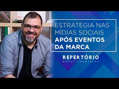 Estratégia nas mídias sociais após eventos da marca - Repertório Marketing & Talks