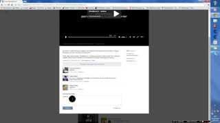 Как скачать видео из В контакте без программ и дополнительного софта.(Автор : https://vk.com/id154619260 --------------, 2014-05-25T13:53:01.000Z)