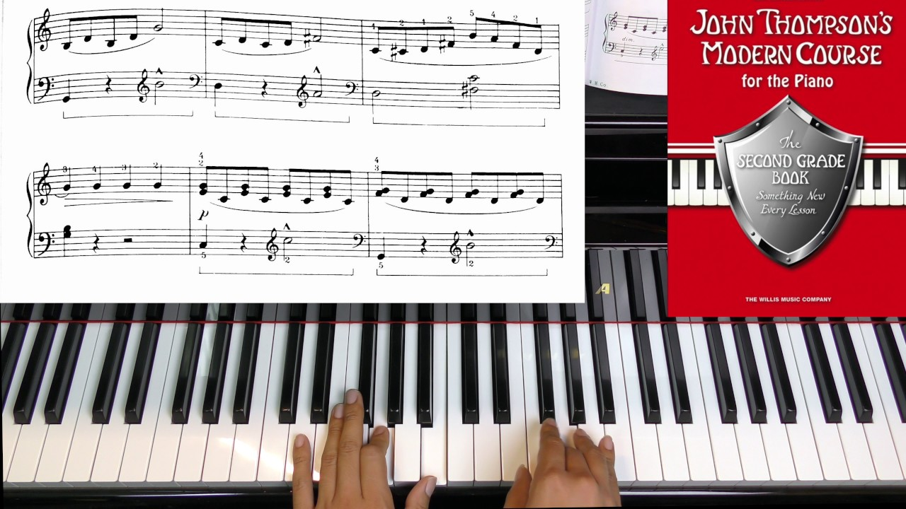 Page 14 Distant Bells JOHN THOMPSON'S MODERN COURSE FO THE PIANO SECOND  GRADE