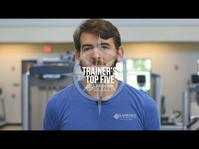 Trainer's Top Five - Shane Piccolo Shares His Favorite Exercises