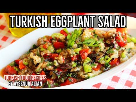 Turkish Roasted Eggplant Salad