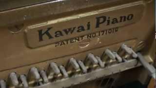 戦後、少ない材料の中でなんとかピアノ作りを再開させたいという、河合...