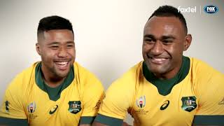 Get to know the Wallabies ahead of the Rugby World Cup