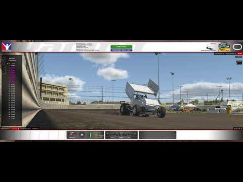 10 fast laps in my 305 sprint car. - dirt track racing video image