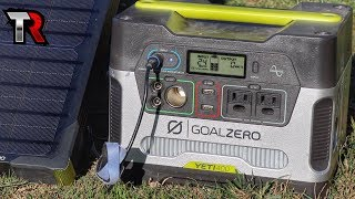 OFF GRID POWER - Goal Zero Yeti 400 & Boulder 50 Solar Panel Review