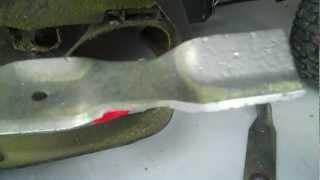 New Gator Mulcher Blades & Problems