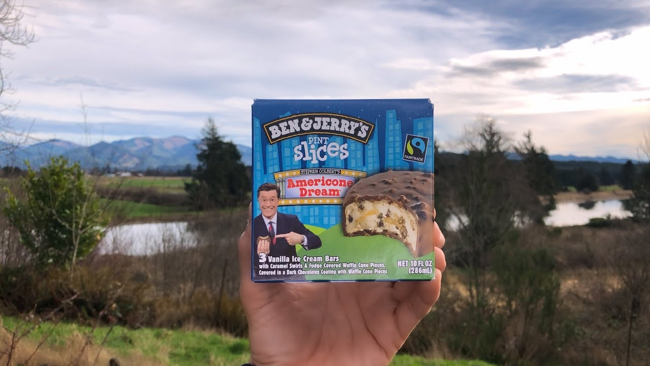 Stephen Colbert S Americone Dream Ice Cream Youtube The american dream was a vision or idealistic concept centered about a belief in life, liberty, and the pursuit of happiness. stephen colbert s americone dream ice cream