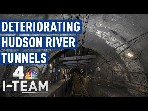 Deteriorating Hudson River Tunnels | 360° Video | NBC 4 I-Team