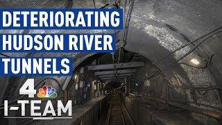 Deteriorating Hudson River Tunnels | 360° Video | NBC 4 I-Team