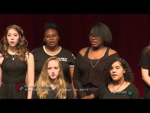 Colerain High School Fall Choral Concert: October 18, 2017
