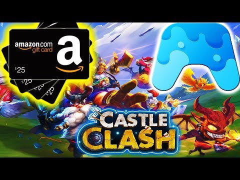 GET FREE GIFT CARDS FOR PLAYING CASTLE CLASH!!!