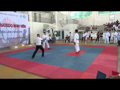Thi Đấu Karatedo ĐH Luật (24/4) - NAM KUMITE Cá Nhân (Bình)