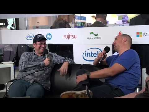 Arnd v. Wedemeyer  TechLounge Tag 2  CeBIT 2015