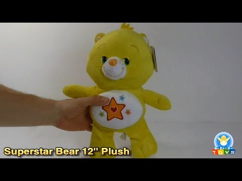 "Superstar Bear 12"" Plush Toy Review (Care Bears)"
