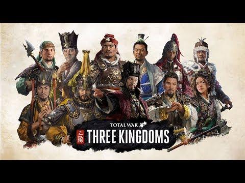 Total War THREE KINGDOMS. 非法的两场比赛的儿子 (стрим)