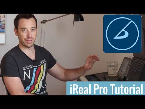 IReal Pro Piano Tutorial