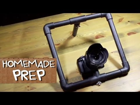 DSLR Camera Stabilizer for Under $5 (Part 1: PREP) - Homemade Film School