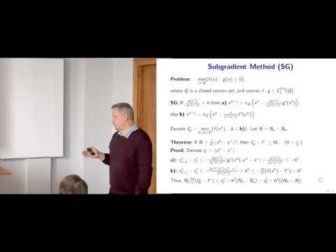 Modern Algorithmic Optimization - lec.2