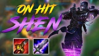 12% HP ON HIT DMG SHEN JUNGLE   LoL Shen Gameplay Lozo