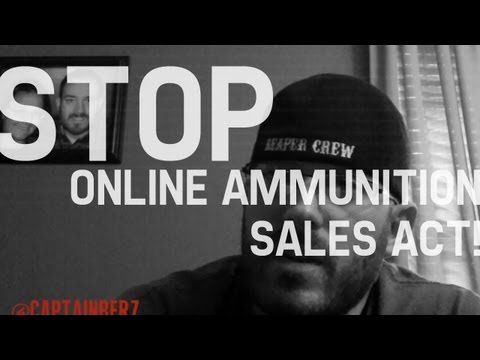 **RED ALERT** Stop Online Ammunition Sales Act