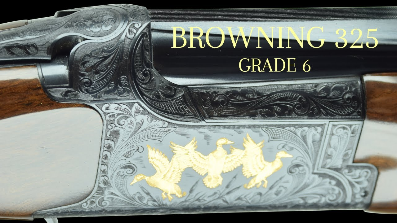 Browning 325 Grade 6 Sporter Shotgun 28
