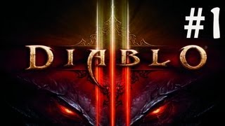 Welcome To HELL - Diablo 3 Walkthrough Part 1 (Xbox 360)